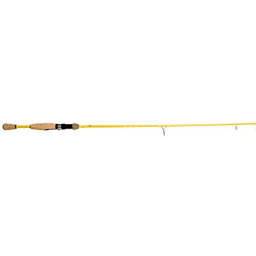 Eagle Claw Featherlight Spinning Rod, 2 Piece (Ultra Light Yellow, 5-Feet 6-Inch) Review