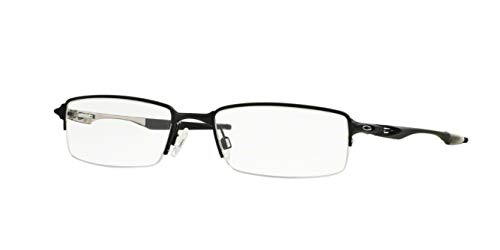 2ab6fcc73833f Oakley OX3119-01 Halfshock Eyeglasses-Satin Black-55mm