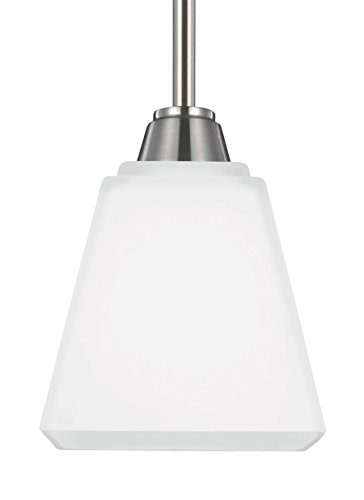 Seagull 6113001-962 One Light Mini Pendant by Seagull