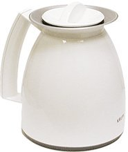 Krups 281-70 8-Cup Thermal Carafe, White. (Krups Aroma Control)
