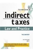 Indirect Taxes: Law and Practice