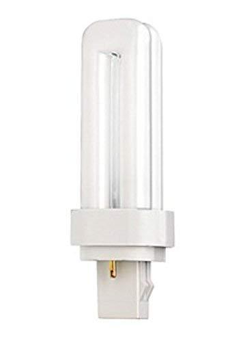 (Case of 25) Satco S8320 - CFD13W/841 13-Watt 4100K Double Tube 2-Pin GX23-2 Base T4 Compact Fluorescent - 2 T4 13w Gx23 Base