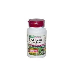 ARA-Larix/Olive Leaf 750mg Nature's Plus 30 Tabs by Nature's ()