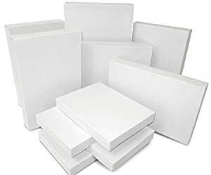White Assorted Size Gift Wrap Packaging Present Boxes Two Packs of 8 Boxes Each