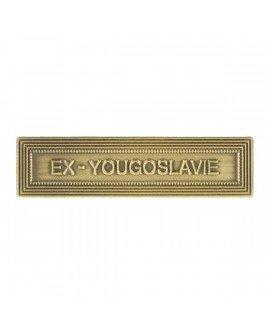 Le Comptoir Des Mé dailles - Agrafe Ex-Yougoslavie Bronze - AGBBEXYO Le Comptoir Des Médailles