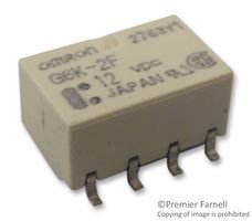 RELAY, SIGNAL, DPDT, 30VDC, 1A G6K-2F 24DC By OMRON ELECTRONIC COMPONENTS G6K-2F 24DC-OMRON ELECTRONIC COMPONENTS