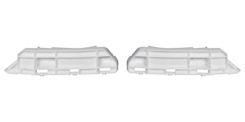 DAT AUTO PARTS Front Bumper Cover Spacer Set of Two Replacement for 05-10 Honda Odyssey White Left Driver Right Passenger Side Pair HO1042109 HO1043109
