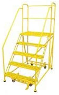 product image for Cotterman 5WP3624RA3B4B8AC2P6 - Work Platform 5 Step Steel 86In. H.
