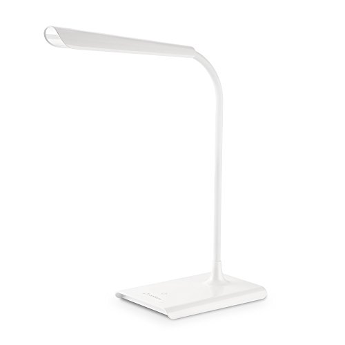 Dimmable LED Desk Lamp with USB Charging Port, Zanflare 8W Eye- care Dimmable Table Lamp, Glare-Free, Touch Control, Memory - Girls Glares For
