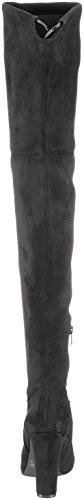 Donna Nero Negro Buffalo Stivali Strech 00 Micro 2861 London 01 qwxwORF