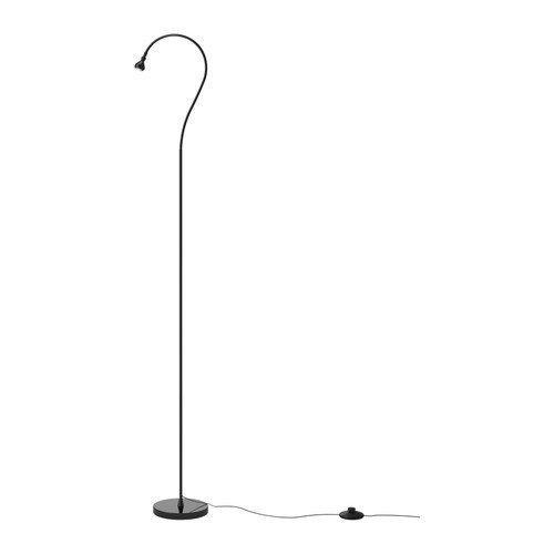 Ikea Jansjo Floor Reading Lamp, Black