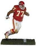 NFL Series 11 Figure: Willie Roaf, Kansas City Chiefs Red Jersey