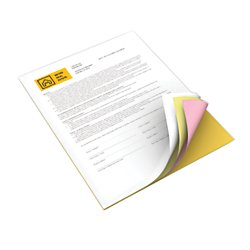 Carbonless Paper,4-Part Straight Collated,WE/CN/PK/GRD by Xerox