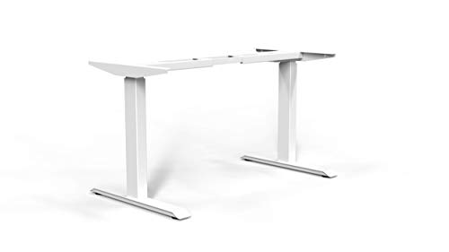 Navodesk Smart Standing Desk Model ND-F200 Bluetooth Height Adjustable Sit Stand Desk Frame Only (White)