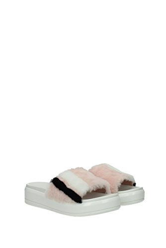 Pantofole Pelliccia Donna Prada Zoccoli 1xx374 Rosa Uk E r4qaZn6xwr