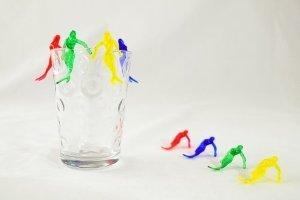 Mermaid Cocktail Picks Drink Markers - Case of 1,000