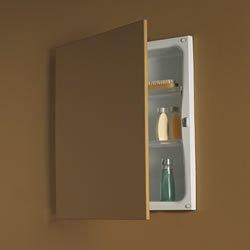 Jensen 622 Basic Hideaway Frameless Single-door Recessed Mount Medicine Cabinet by Jensen
