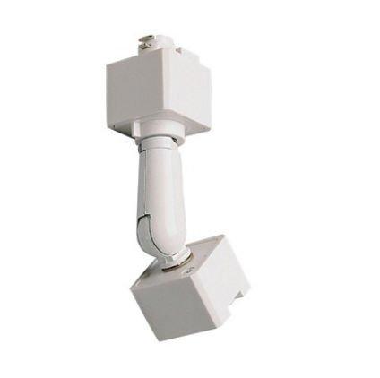 Nora照明nt-333傾斜天井Adaptor forトラック照明、 NT-333W  ホワイト B003ZHTBJ6