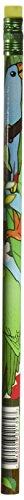 Award Eraser - Moon 2137B Rainforest Award Pencil, Multi Colors (Pack of 12)