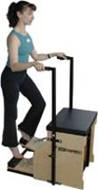 STOTT PILATES MERRITHEW Split-Pedal Stability Chair with Handles