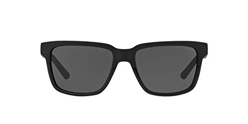 Armani Exchange Unisex Sunglasses, Black Lenses Injected Frame, ()