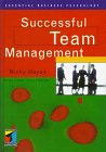 Successful Team Management, Hayes, Nicky, 041511408X