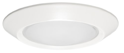 Juno Lighting 5101-ABZ 5-Inch Beveled Frame with Frosted Dome Lens, Classic Aged Bronze Trim -