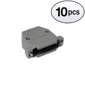 (GOWOS (10 Pack) DB25 Plastic Hoods Screw Type)