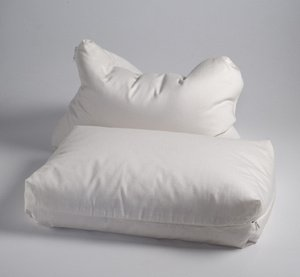 Millet Hull Pillows (Serenity Rejuvenation Organic Millet and Wool Pillow)