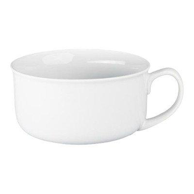BIA Cordon Bleu Porcelain Soup Cup with Handle, White, Set of 4 (Bleu Soup)