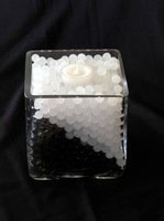 Buy black wedding water beads