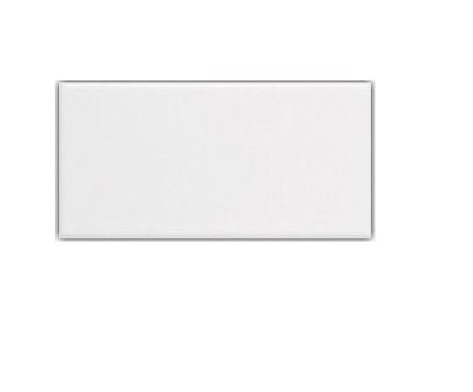 American Ceramic Tile - American Olean Starting Line Gloss White Ceramic Subway Tile Box of 4 (Common: 4-in x 8-in; Actual: 4.25-in x 8.5-in)