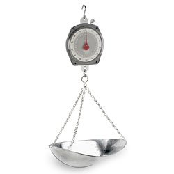 Nasco Hanging Scale with Scoop - (Scale Scoop)