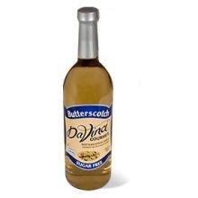 Kerry Food and Beverage Da Vinci Sugar Free Butterscotch Flavoring Syrup, 750 Milliliter -- 12 per case. by Kerry Food and Beverage