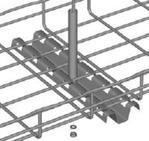 Cablofil FASPCH200PG Center Type Tray Hanger, 8'' Long