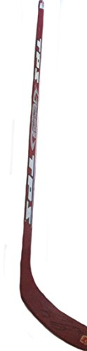 Calgary Flames Craig Conroy Autographed Hand Signed Flames Logo Full Size Hockey Stick with Proof Photo of Signing and COA