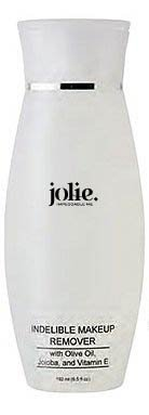Jolie Cosmetics Indelible (Waterproof) Makeup Remover 6.5 oz. - Super Gentle by Jolie