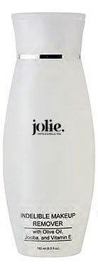 Jolie Cosmetics Indelible (Waterproof) Makeup Remover 6.5 oz. - Super Gentle
