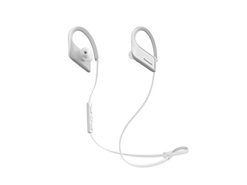 Panasonic Wings Ultra-Light Wireless Bluetooth Sport Earphones White (RP-BTS35-W) -