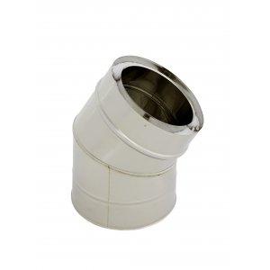 holetherm Vaso de acero inoxidable Chimenea de/Horno Tubo Arco 30 ° DN 200/250 mm: Amazon.es: Bricolaje y herramientas
