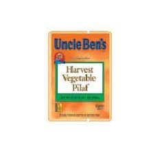 Rice Uncle Bens Harvest Vegetable Pilaf 6 Case 33 Ounce