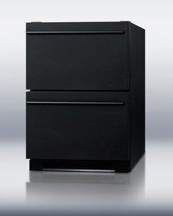 Summit SP5DS2DBLK Built Drawer Refrigerator