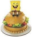 Spongebob Squarepants Krabby Patty Petite Decoset ~ Cake Topper