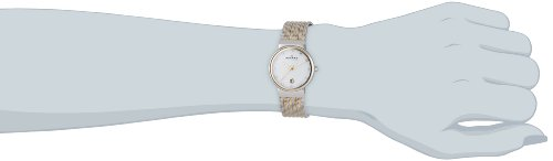 Amazon.com: Skagen 355SSGS Ladies Two Tone Striped Watch: Skagen: Watches