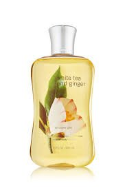 Bath Body Works White Tea Ginger 10.0 oz Shower (Creamy Body Cleanser With White Tea)