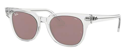 Ray-Ban RB2168 METEOR 912/Z0 50M Transparent/Violet Sunglasses For Men For Women