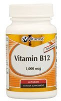 Vitacost Vitamin B12 Delayed Release – 1000 mcg – 60 Tablets