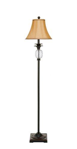 Safavieh Lighting Collection Alyssa Black Tall Pineapple 61-inch Floor Lamp -