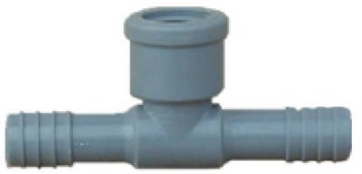 Poly Fpt Tee - Genova Products 351455 0.5 in. Poly Female Pipe Thread Insert Tee