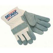 Big Jake Leather - Big Jake Leather Palm Gloves - 12 Pairs, Medium